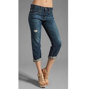 Adriano Goldschmied Ex Boyfriend Crop Jeans